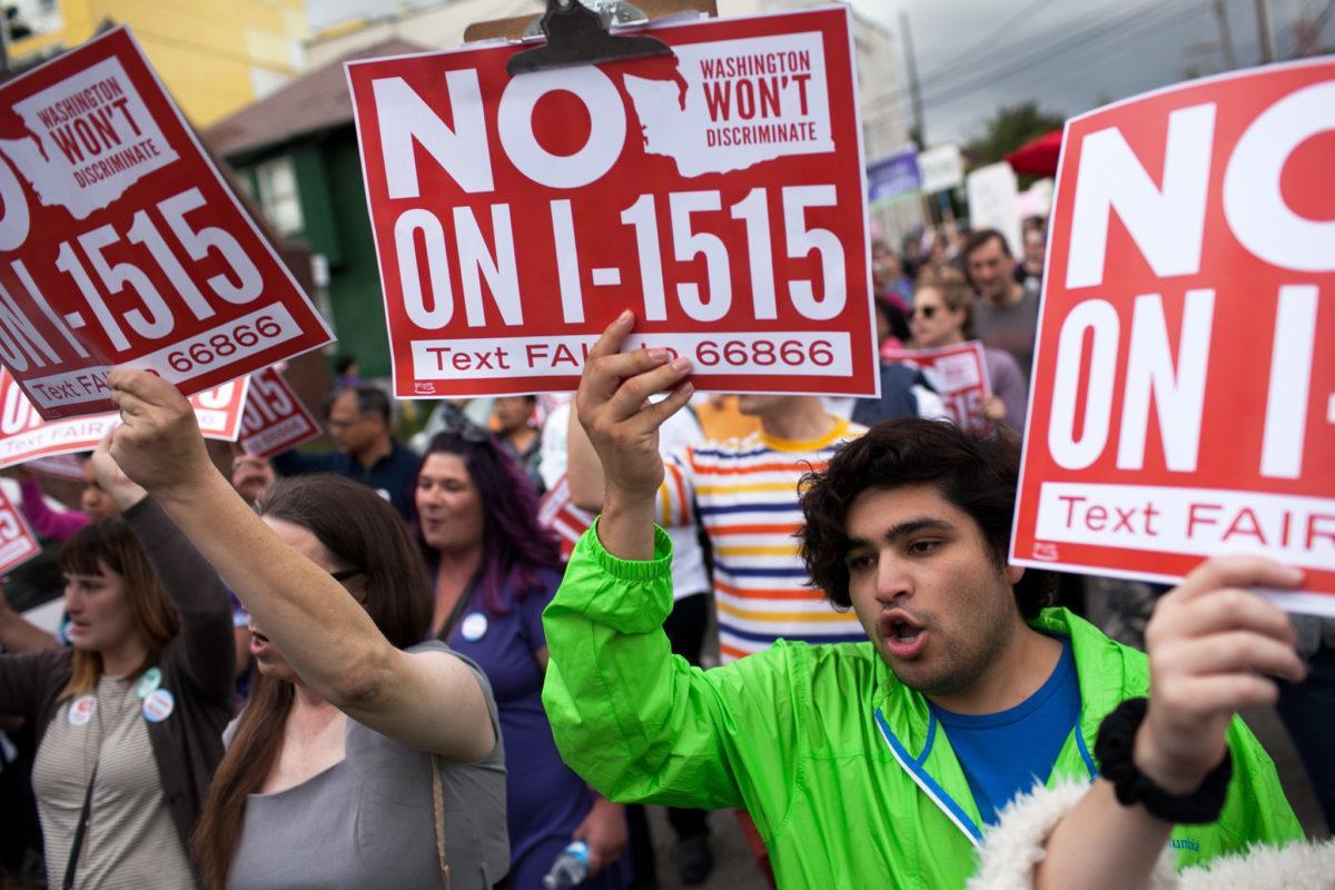 Protesting I-1515